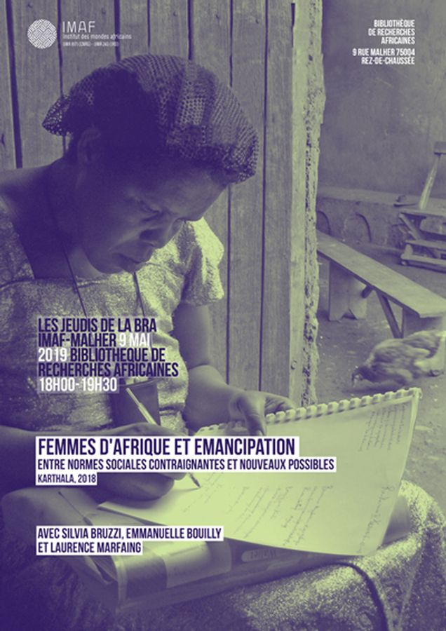 Exemple d'affiche des Jeudis de la BRA